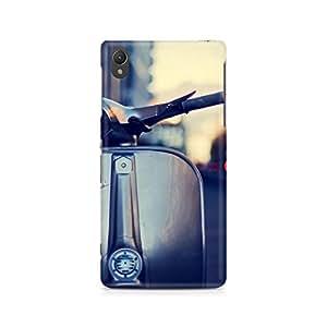 Ebby Vespa Silver Premium Printed Case For Sony Xperia Z2 L50W