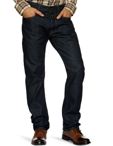 Replay Newdoc Straight Men's Jeans Dark Rinse W36INxL32IN