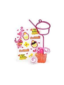 Cupcake Birthday Favor Kit (for 1 Guest)