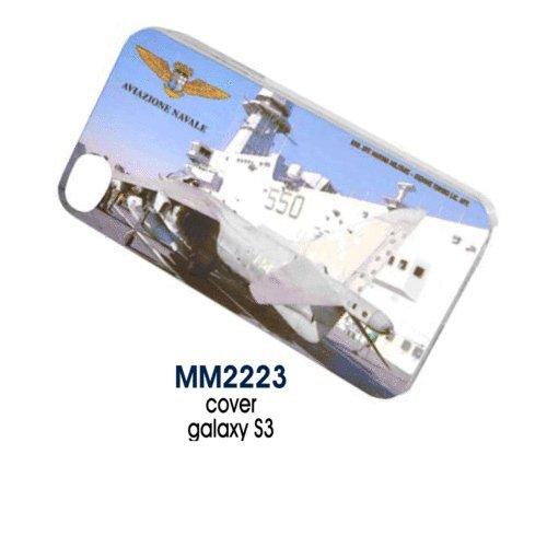 Giemme articoli promozionali - Cover Galaxi S3 Aereo Aviazione Navale Marina Militare Prodotto Ufficiale