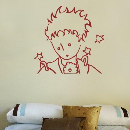 IL Piccolo Principe Portrait -Adesivi Murali -Wall Stickers-per la decorazione della casa e della cameretta