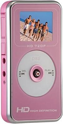 DXG DXG-567VPC 5.0 Megapixel High-Definition Pocket Digital Video Camera In Clamshell (Pink)