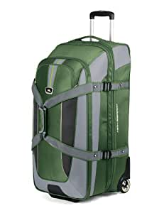 High Sierra AT659-644 AT659 32-Inch Expandable Wheeled Duffel with Backpack Straps (Cactus/Shadow/Black)