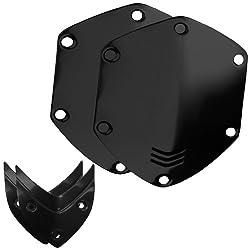 V-MODA Crossfade Over-Ear Headphone Metal Shield Kit (Shiny Black)