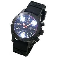 MTM (MTM ミリタリーオプス) 腕時計 ヴァルチャー T1009BK メンズ [正規輸入品]