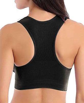 Women's Push Up Wire free Yoga Comfort Running Sport Bras