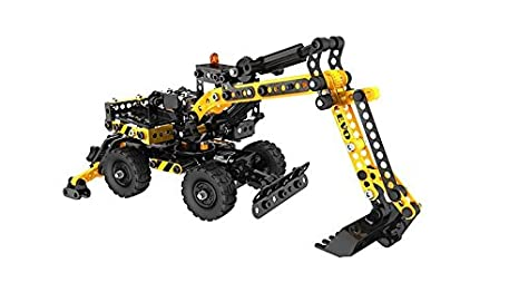 Meccano - 6023640 - Jeu De Construction - La Pelleteuse Evolution