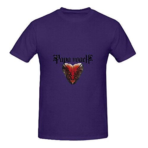papa-roach-to-be-loved-the-best-of-papa-roach-tour-80s-mens-o-neck-big-tall-tee-purple