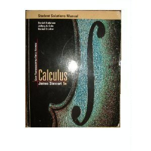 Single Variable Calculus Early Transcendentals - Student Solutions Manual