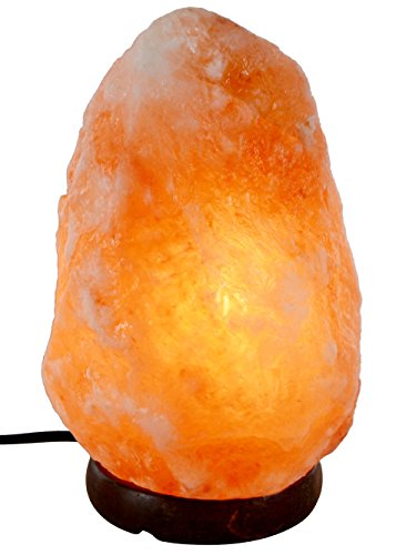 Rocky-Limin-Hand-Carved-Natural-Crystal-Himalayan-Salt-Lamp-Wood-Base-Bulb-And-Dimmer-Control