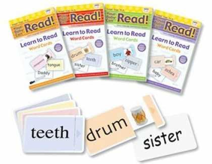 Your Baby Can Read!® Learn to Read Word & Picture SLIDING CARDS for Starter, Vol 1, Vol 2, Vol 3, Review