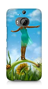 Amez designer printed 3d premium high quality back case cover for HTC One M9+ (Summer fun that never ended)