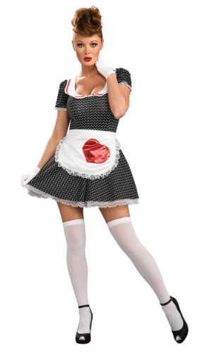 Secret Wishes Women's Sassy Adult 50's Housewife Costume