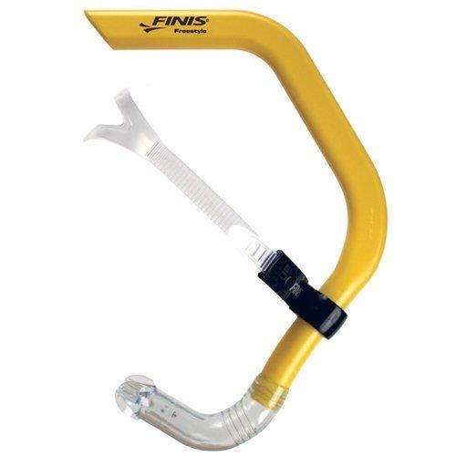 Finis - Tubo de respiración para natación freestyle, color amarillo