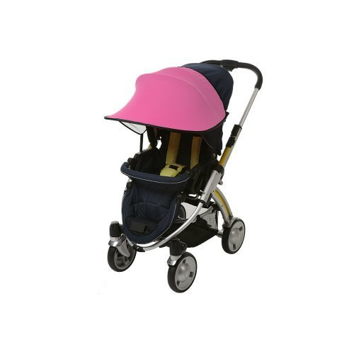 Manito Sun Shade for Strollers and Car Seats - Pink (7 Available Colors)