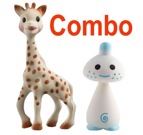 Vulli-Sophie-the-Giraffe-Teether-Plus-Vulli-Chan-Pie-Gnon-Soft-Natural-Rubber-Teether-Comes-In-Gift-Boxes-Blue