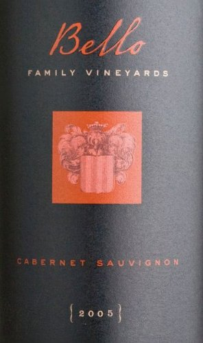 2005 Bello Family Vineyards Cabernet Sauvignon (Library Wine) 750 Ml