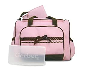 Gerber Large 3 in 1 Ribbon Bag, Pink