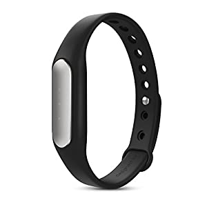 [2015 New Version] Xiaomi Mi Band MiBand Smart Bracelet with Full White LED Indicator -- Black