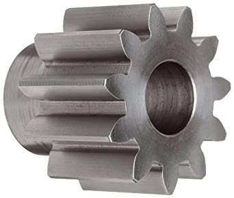 Boston Gear Spur Gear, 14.5 Pressure Angle, Steel, Inch, 5 Pitch