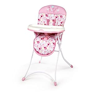 Bright Starts High Chair, Sweet Spots and Lady Bugs