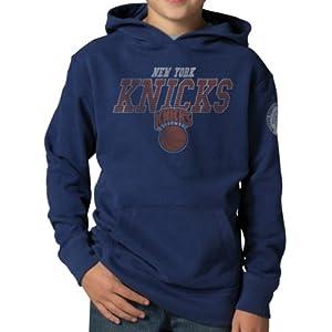 NBA New York Knicks Playball Hoodie Jacket, Bleacher Blue by