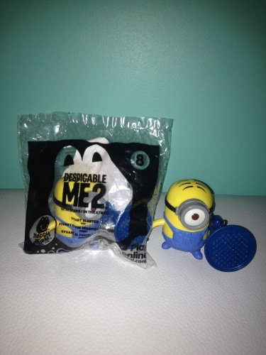 McDonalds Happpy Meal Dispicable Me 2 Stuart Blaster - 1