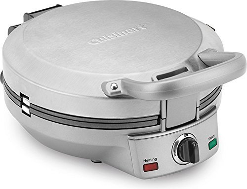 Cuisinart CPP-200 International Chef Crepe/Pizzelle/Pancake Plus, Stainless Steel (Cuisinart Tortilla Maker compare prices)