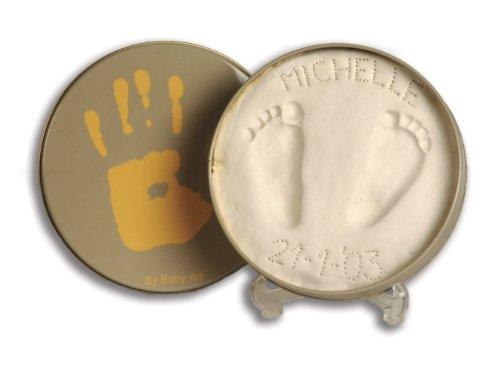 Baby Art 34120007 - Magic Box Scatola in metallo per conservare l'impronta delle manine o dei piedini del neonato