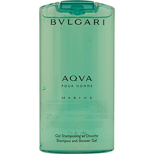 [ブルガリ] アクア プールオム マリン トニック 200 ml Energizing Shampoo & シャワージェル