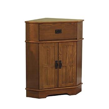 TMS Mission Corner Cabinet