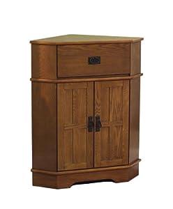 tms mission corner cabinet kitchen dining. Black Bedroom Furniture Sets. Home Design Ideas
