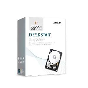 HGST Deskstar 3.5-Inch 1TB 7200 RPM SATA II 32 MB Cache Internal Hard Drive (0S02860)