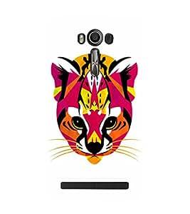 EPICCASE Artistic tiger Mobile Back Case Cover For Asus Zenfone 2 Laser ZE601KL / Asus Zenfone 2 Laser ZE601KL (6 Inches) (Designer Case)
