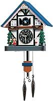 RHYTHM(リズム時計) 【本格的ふいご式カッコー時計】 カッコーハウスR 《日本組立》 木枠/彩色仕上げ 4MJ744RH06