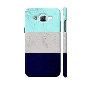 Colorpur Blue Concrete Design Designer Mobile Phone Case Back Cover For Samsung Galaxy J5   Artist: Abhinav