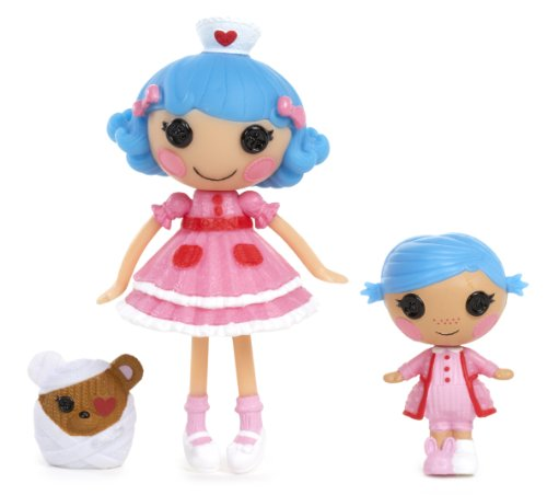 Lalaloopsy Mini Littles Stumbles Bumps 'N' Bruises and Rosy Bumps 'N' Bruises Doll - 1
