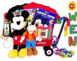Disney Mickey Mouse Clubhouse Baby Gift Basket - Personalized front-534651
