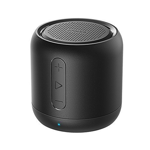 Anker SoundCore mini, Super-Portable Bluetooth Speaker with 15-Hour Playtime, 66-Foot Bluetooth Range, FM Radio, Enhanced Bass