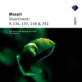 Mozart : Divertimento in B flat major K137 : III Allegro assai