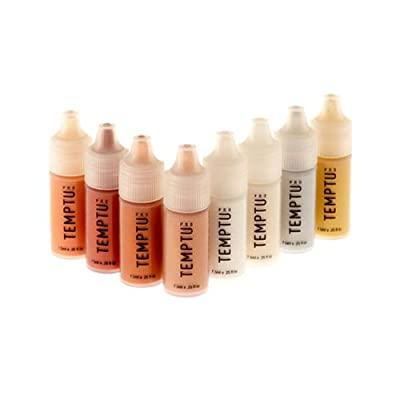 TEMPTU PRO 8 Pack S/B Highlighter Starter Set in 1/4 Ounce Bottles (Complete set of all 8 S/B Highlighters)