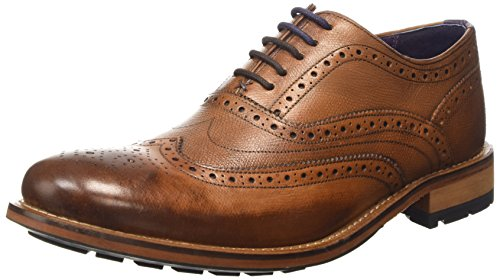 Ted Baker Guri 8 - Brogue Uomo, Marrone (Tan), 46 EU
