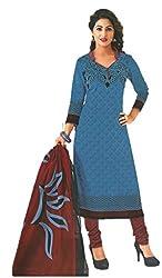 Design Willa Classic Cotton Dress Material (DW083)