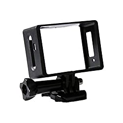 Magideal Protector Housing Side Frame Mount Border for Sj5000 WiFi Action Camera Cam