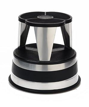 Rolling Step Stool 500 Lb Capacity Bintisunigi