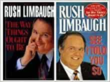 A book review of see i told you so rush limbaugh