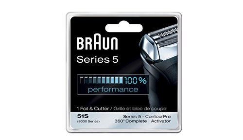 Braun Series 5 Combi 51s Foil And Cutter Replacement (Formerly 8000 360 Complete Or Activator), Super Size Value Package 2- Replacements by Braun
