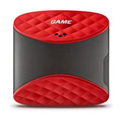 GAME GOLF Digital Tracking System, Red Black by Game Golf