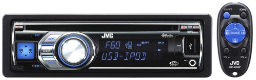 JVC KD-R600 30K Color-Illumination Single-DIN CD Receiver with Remote Control and USB 2.0 for iPod/iPhone (Ford Compass Module compare prices)