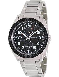 Citizen Eco-Drive Analog Black Dial Men's Watch AP4010-54E
